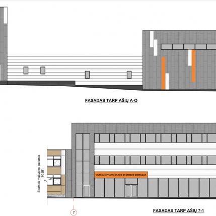 Mokslo paskirties objektas statybos darbu planas